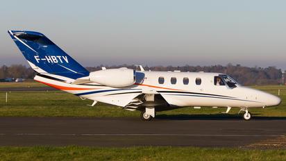 F-HBTV - Private Cessna 525 CitationJet M2