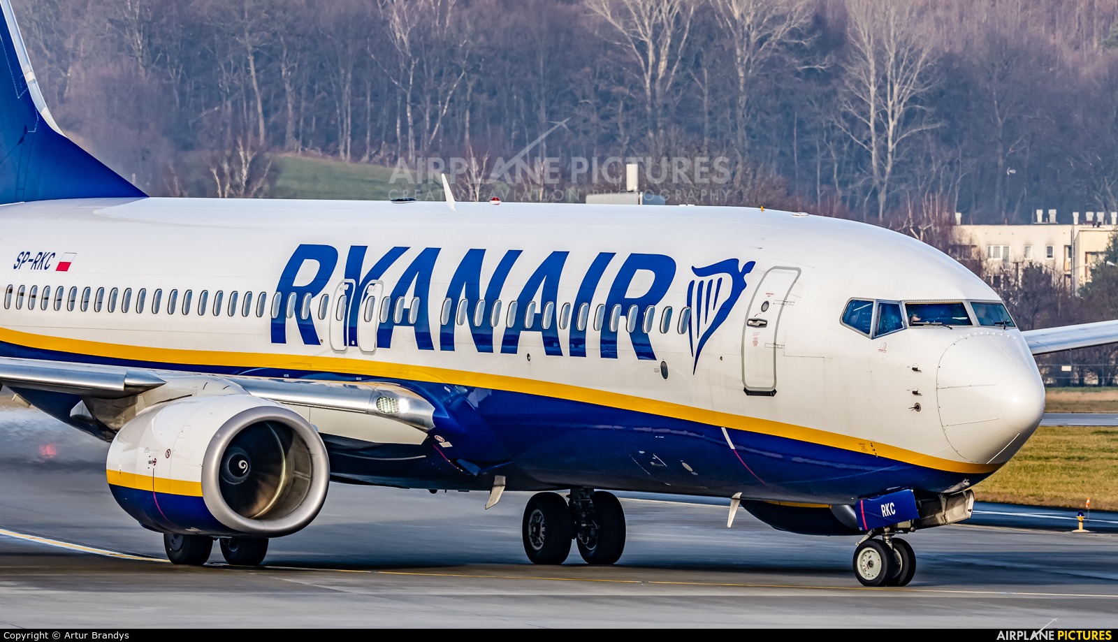 Ryanair Sun SP-RKC aircraft at Kraków - John Paul II Intl