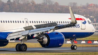 G-NEOU - British Airways Airbus A321 NEO