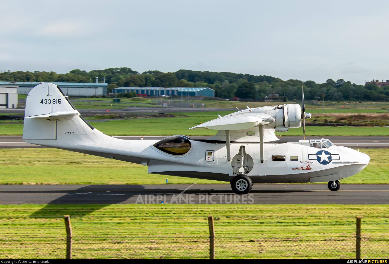 Catalina Aircraft G-PBYA aircraft at Prestwick