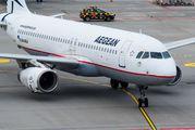 SX-DGJ - Aegean Airlines Airbus A320 aircraft