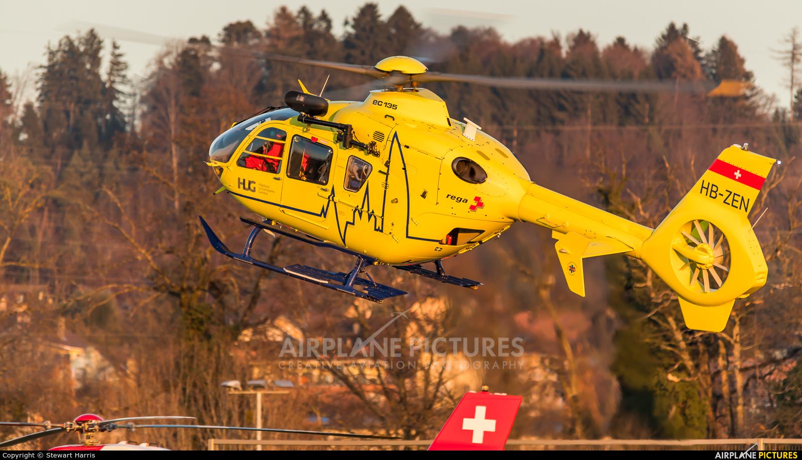 Swift Copters HB-ZEN aircraft at Lausanne - La Blécherette