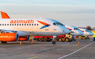 RA-89120 - Azimuth Sukhoi Superjet 100 aircraft