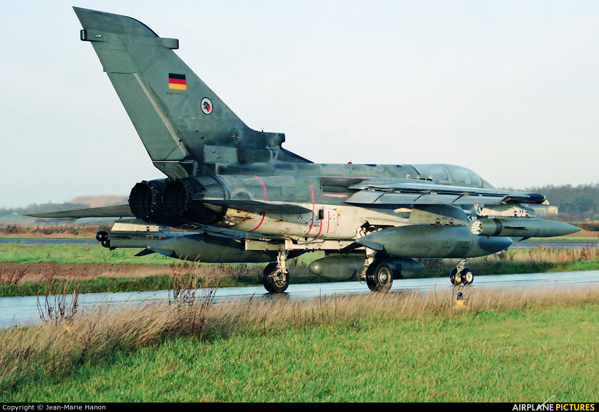 Germany - Air Force 43+74 aircraft at Florennes
