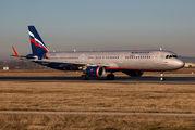 VP-BKZ - Aeroflot Airbus A321 aircraft