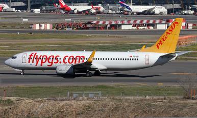 TC-IZI - Pegasus Boeing 737-800