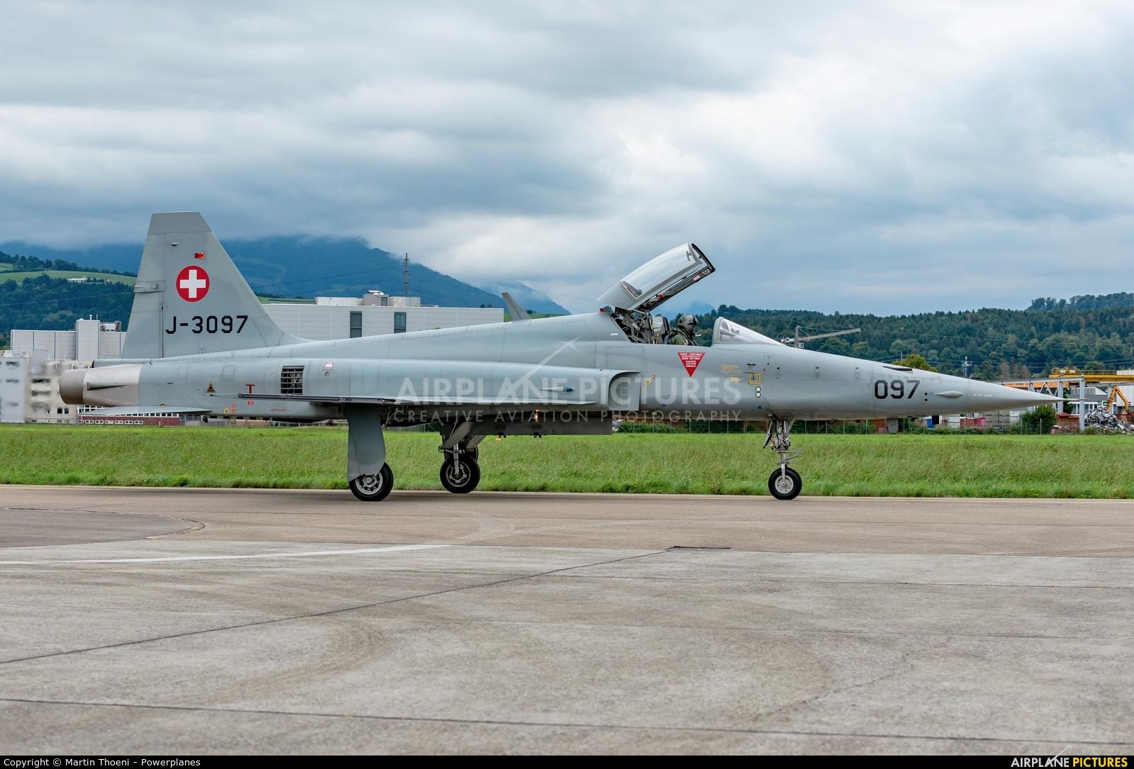 Switzerland - Air Force J-3097 aircraft at Emmen