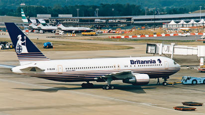 G-BLKW - Britannia Airways Boeing 767-200ER