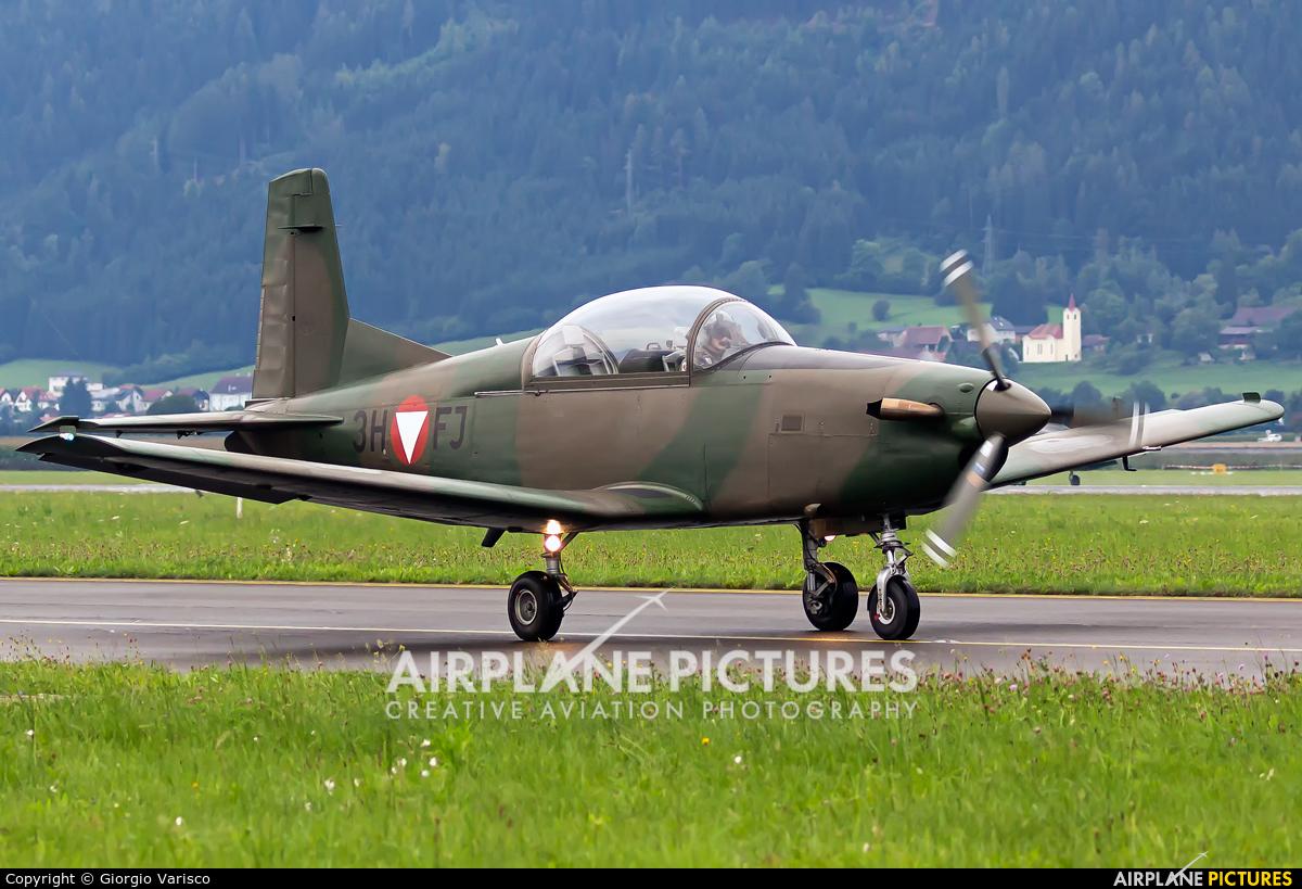 Austria - Air Force 3H-FJ aircraft at Zeltweg
