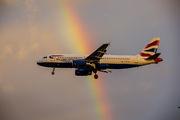 G-EUUX - British Airways Airbus A320 aircraft
