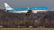 PH-EZV - KLM Cityhopper Embraer ERJ-190 (190-100) aircraft