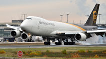 N609UP - UPS - United Parcel Service Boeing 747-8F aircraft