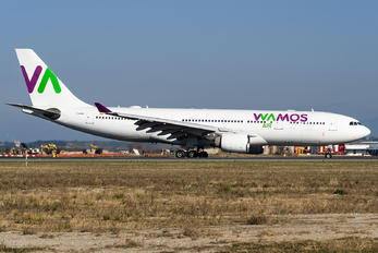 EC-MTU - Wamos Air Airbus A330-200