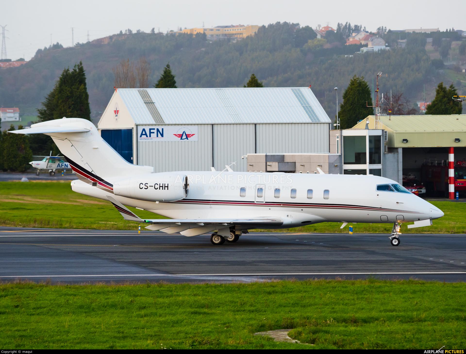 NetJets Europe (Portugal) CS-CHH aircraft at La Coruña