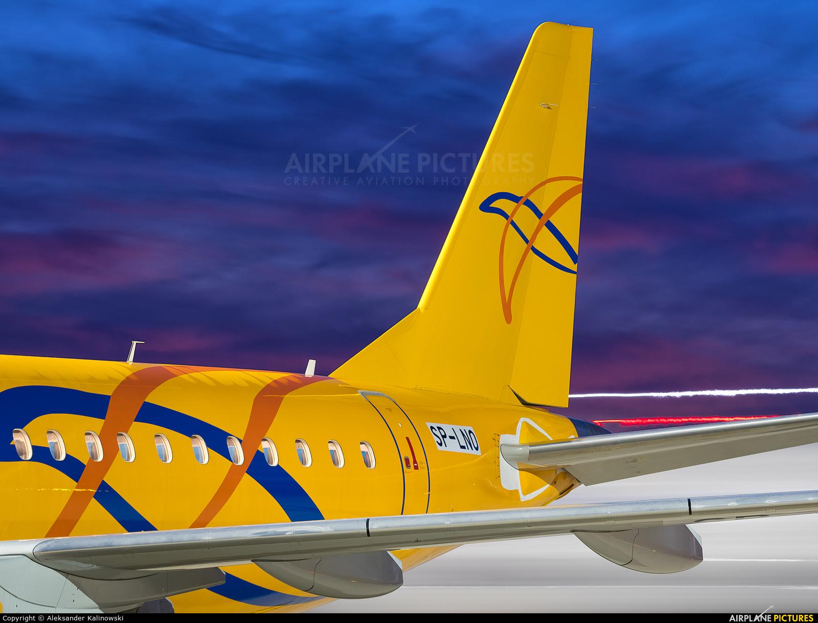 LOT - Polish Airlines SP-LNO aircraft at Warsaw - Frederic Chopin
