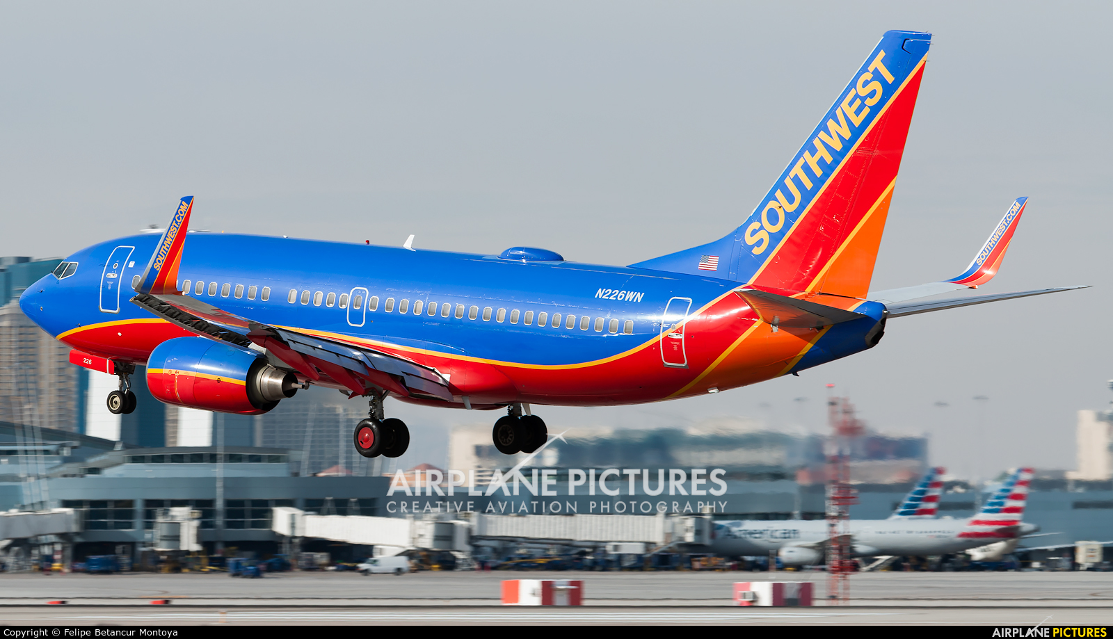 Southwest Airlines N226WN aircraft at Las Vegas - McCarran Intl