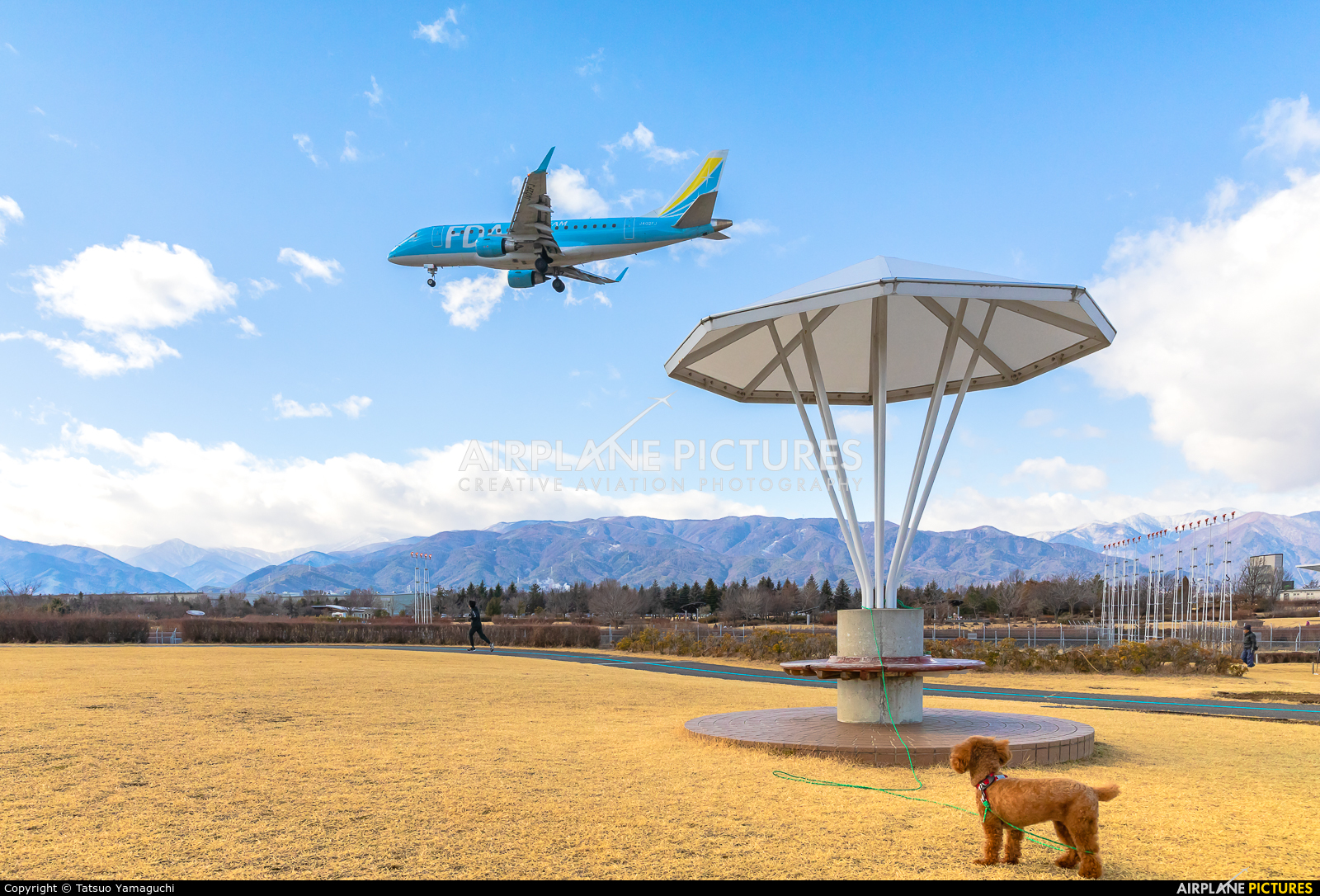 Fuji Dream Airlines JA02FJ aircraft at Shinshu - Matsumoto