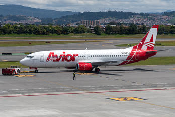 YV3011 - Avior Airlines Boeing 737-400