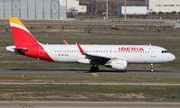 EC-MCS - Iberia Airbus A320 aircraft