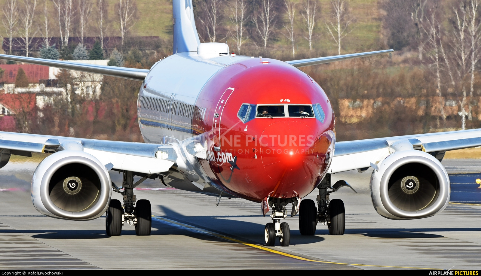 Norwegian Air International EI-FJB aircraft at Kraków - John Paul II Intl