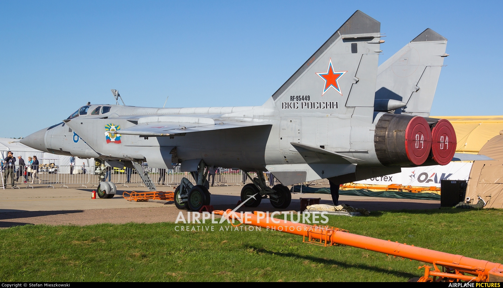 Russia - Air Force RF-95449 aircraft at Zhukovsky International Airport