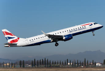 G-LCYZ - British Airways - City Flyer Embraer ERJ-190 (190-100)