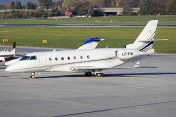 LZ-FIB - Private Israel IAI 1126 Gulfstream G200 Galaxy