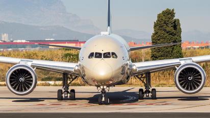 A6-BLW - Etihad Airways Boeing 787-9 Dreamliner