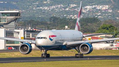 G-YMME - British Airways Boeing 777-200