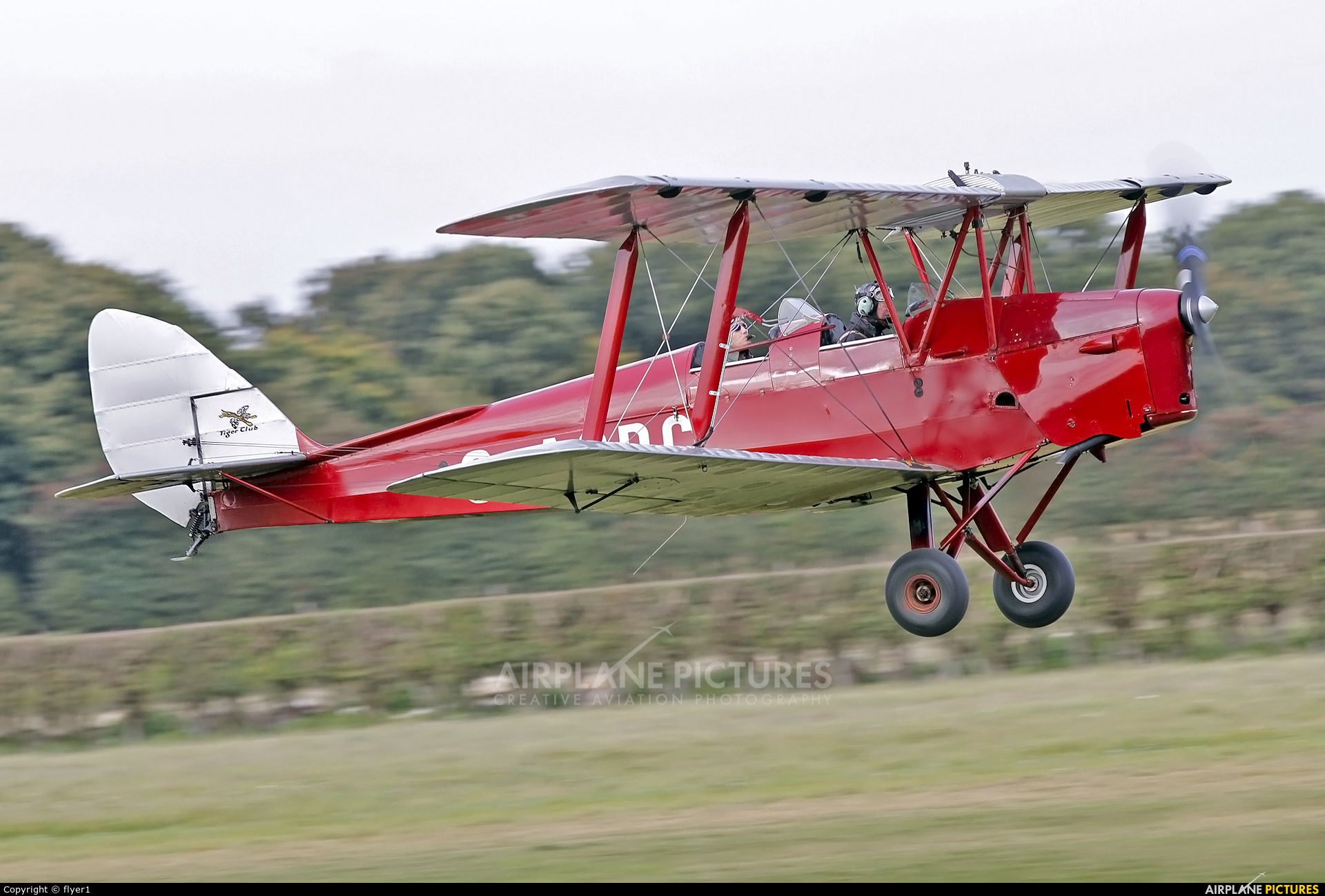The Tiger Club G-ACDC aircraft at Lashenden / Headcorn