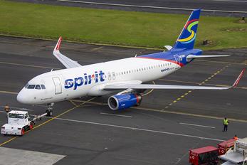 N628NK - Spirit Airlines Airbus A320
