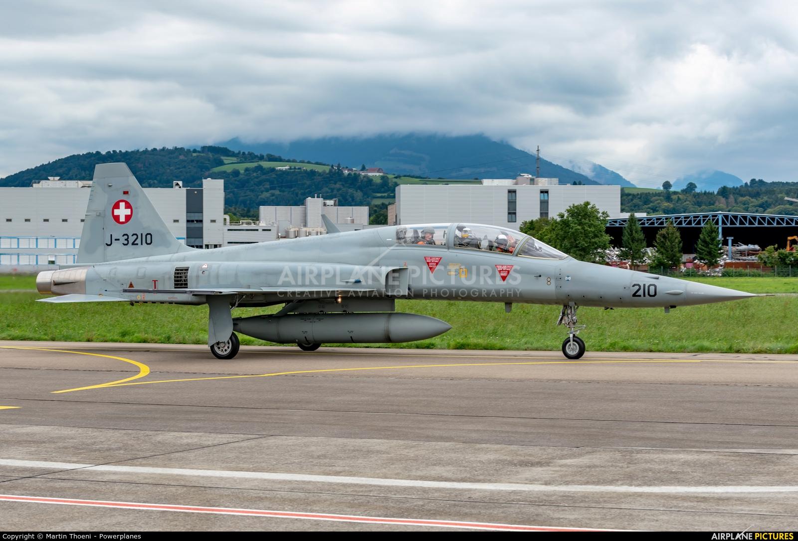 Switzerland - Air Force J-3210 aircraft at Emmen