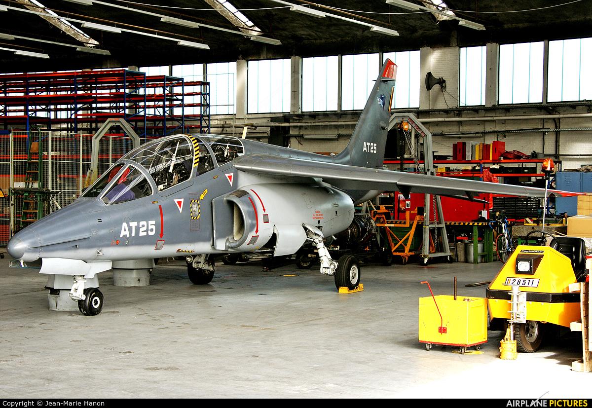 Belgium - Air Force AT25 aircraft at Beauvechain