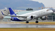 SE-ROI - SAS - Scandinavian Airlines Airbus A320 NEO aircraft
