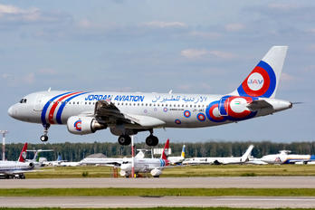 JY-JAC - Jordan Aviation Airbus A320
