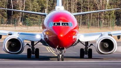 SE-RRV - Norwegian Air Sweden Boeing 737-800