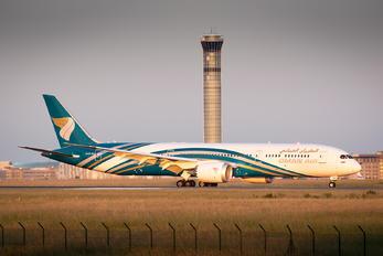 A40-SG - Oman Air Boeing 787-9 Dreamliner