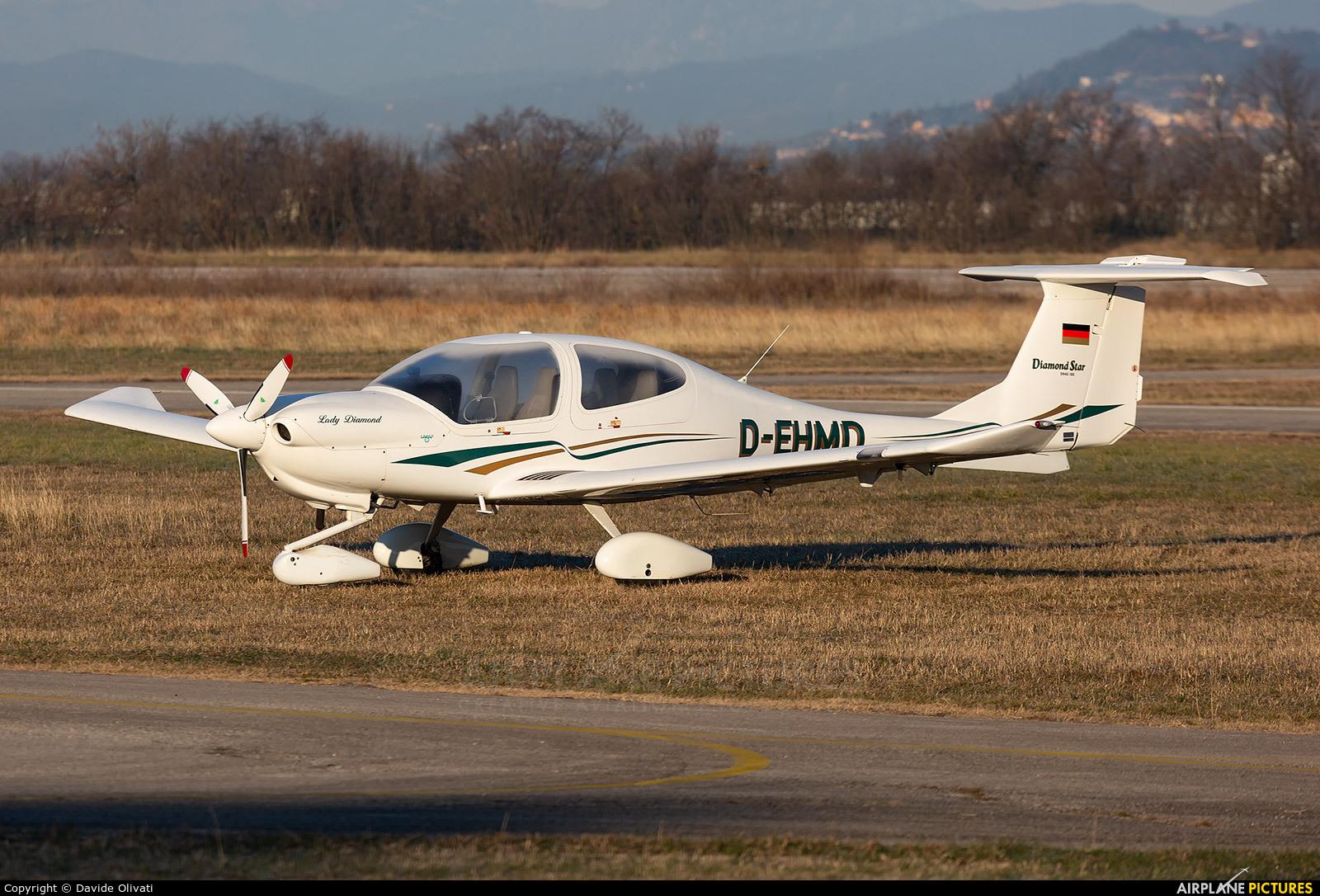 Private D-EHMD aircraft at Verona - Boscomantico