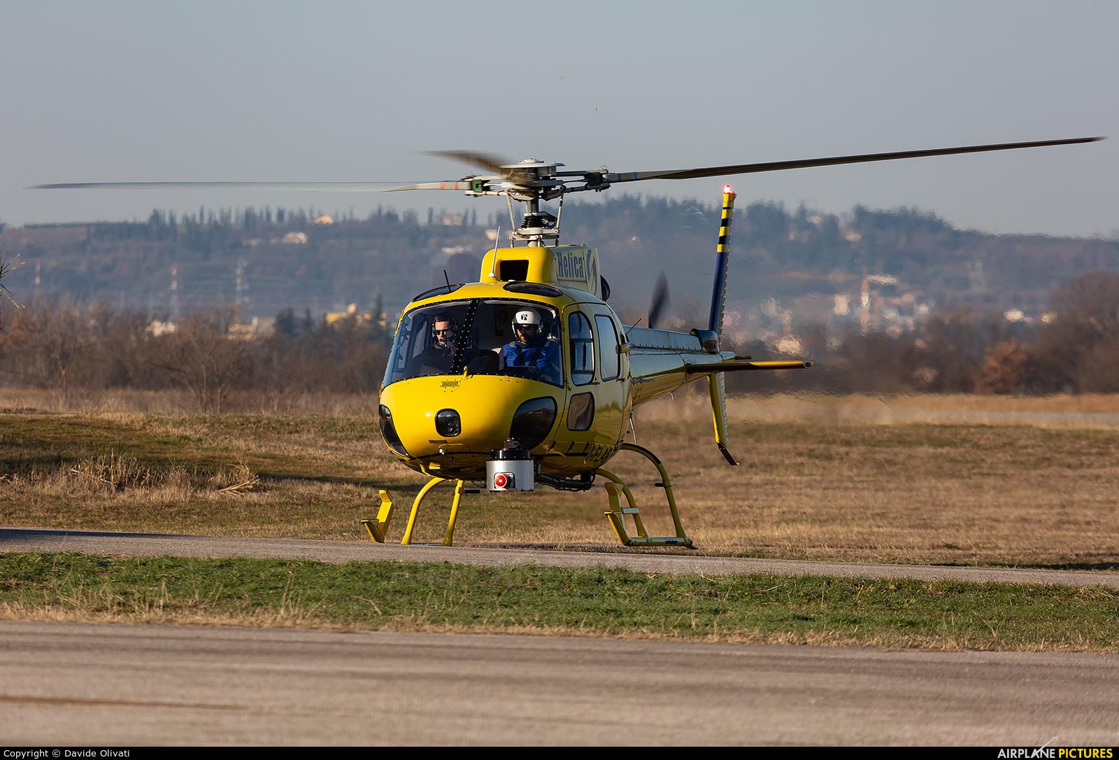 Helica I-FLAP aircraft at Verona - Boscomantico