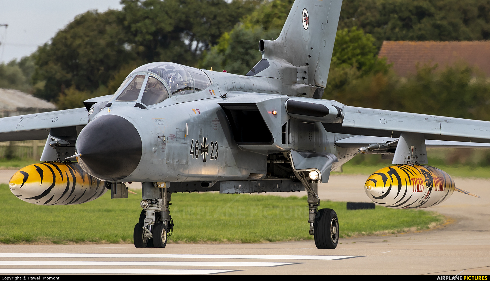 Germany - Air Force 46+23 aircraft at Coningsby