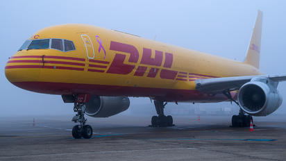 G-DHKC - DHL Cargo Boeing 757-200F