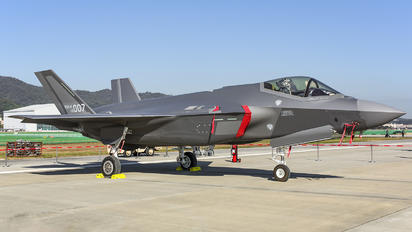 19-007 - Korea (South) - Air Force Lockheed Martin F-35A Lightning II