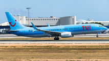 OO-JAA - TUI Airlines Belgium Boeing 737-800 aircraft