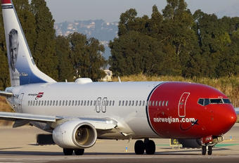 EI-FVW - Norwegian Air International Boeing 737-800