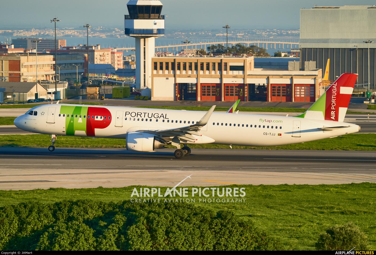 TAP Portugal CS-TJJ aircraft at Lisbon