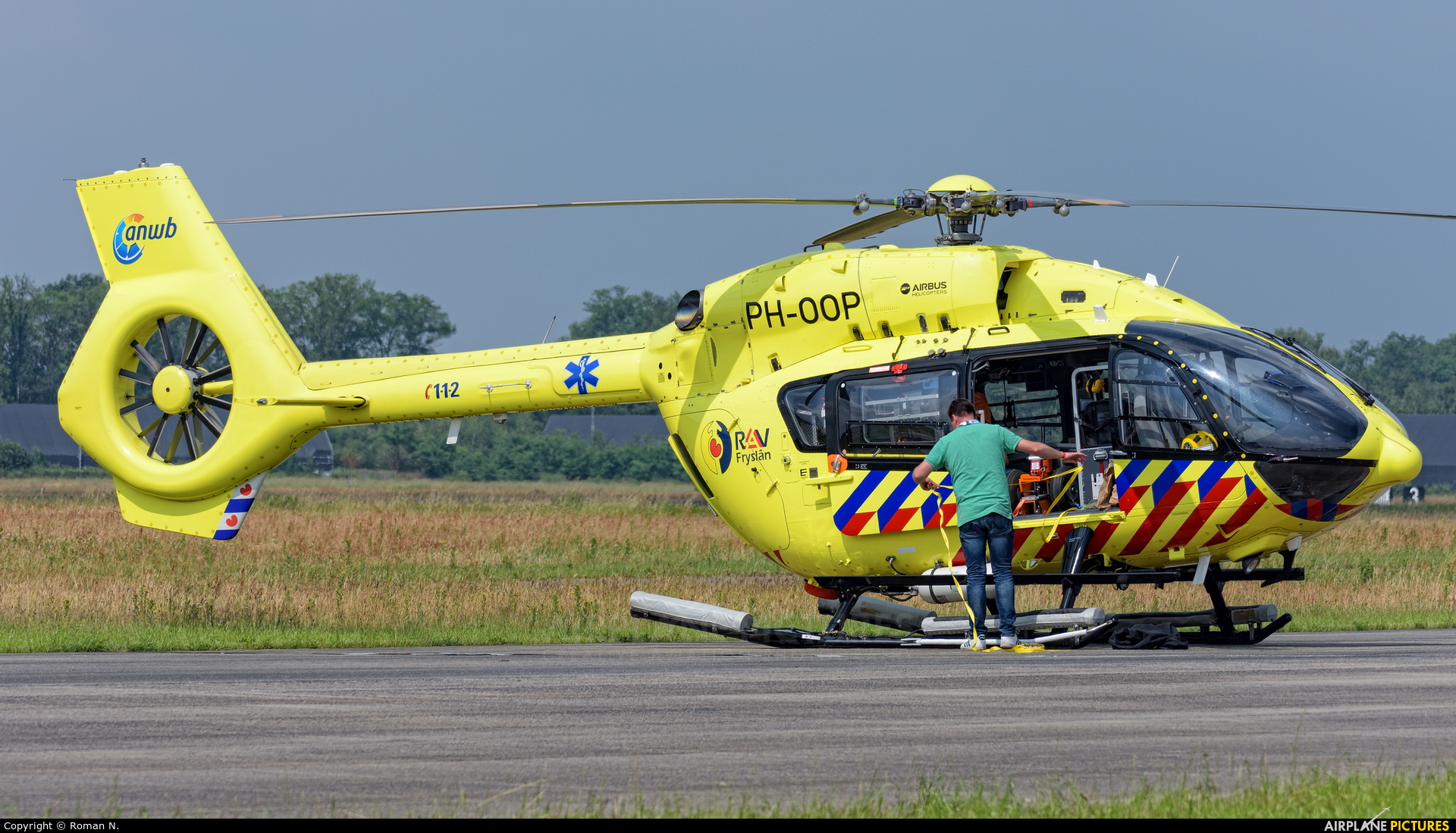 ANWB Medical Air Assistance PH-OOP aircraft at Uden - Volkel
