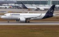 D-AINX - Lufthansa Airbus A320 NEO aircraft
