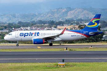 N635NK - Spirit Airlines Airbus A320