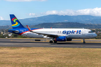 N633NK - Spirit Airlines Airbus A320