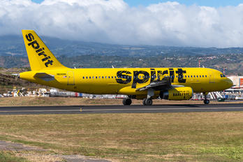 N606NK - Spirit Airlines Airbus A320